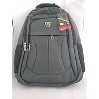 Городской рюкзак мужской Binshuai 2618 сумка тёмно серый, фото 1