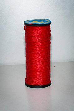 Нить обувная капроновая 375 Текс красная