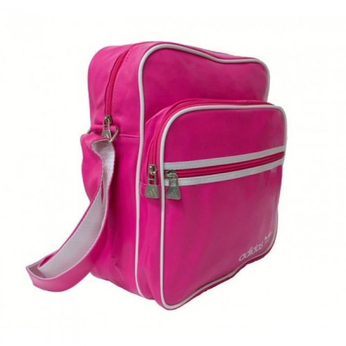 Сумка на плечо Adidas A-2062 Размер 26x31x15 Розовая