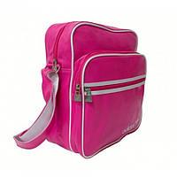 Сумка на плечо Adidas A-2062 Размер 26x31x15 Розовая, фото 1