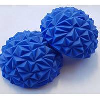 """Балансировочная полусфера, """"риф"""" синяя 5180-6B"""