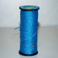 цветная 375 текс 300 грамм синяя нить для прошивки обуви 0.75 мм