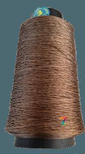 Нить обувная капроновая 187 текс 300 грамм коричневая (нить для прошивки обуви)