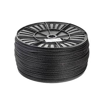 Шнур бытовой полипропиленовый 3 мм х 100 м канат господарський плетений