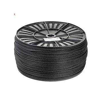 Шнур бытовой полипропиленовый 5 мм х 100 м канат господарський плетений