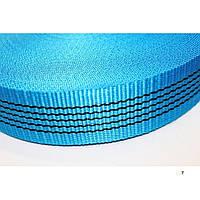 Лента буксировочная для стяжных ремней 50 мм х 50 м – Стрічка для стяжних, буксирувальних ременів синя