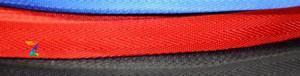 Лента ременная текстильная 25 мм красная стропа нейлоновая для сумок и рюкзаков, стрічка поліпропіленова