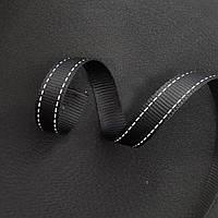 Лента светоотражающая текстильная 20 мм х 50 м – световозвращающая стропа для для одежды и рюкзаков