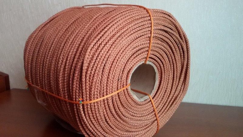 Шнур анидный кордовый 14 мм плетеный (веревка)
