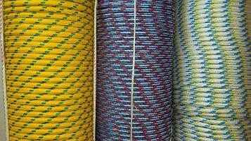 Фал полипропиленовый Ø 8 мм плетеный (фал поліпропіленовий плетений кольоровий)