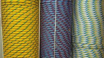 Фал полипропиленовый Ø 10 мм плетеный (фал поліпропіленовий плетений кольоровий)