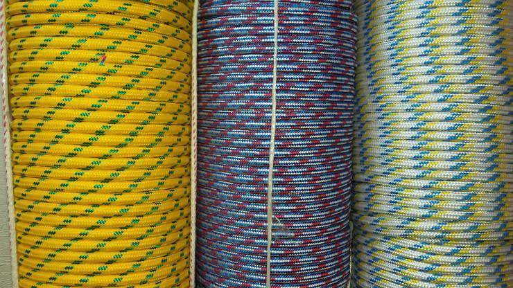 Фал полипропиленовый Ø 16 мм плетеный (фал поліпропіленовий плетений кольоровий)