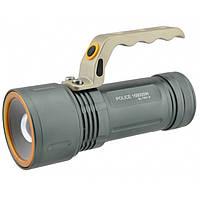 Фонарь прожектор фонарик T801 с зумом 158000W, фото 1