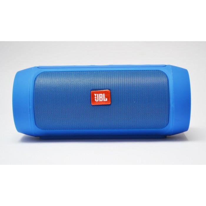 Портативная bluetooth колонка спикер JBL Charge 2 FM, MP3, радио Синий