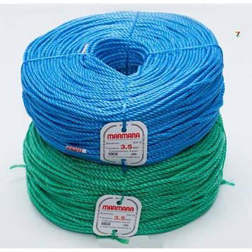 Мотузка поліпропіленова кручена Мармара 4 мм х 200 м (канат Marmara)