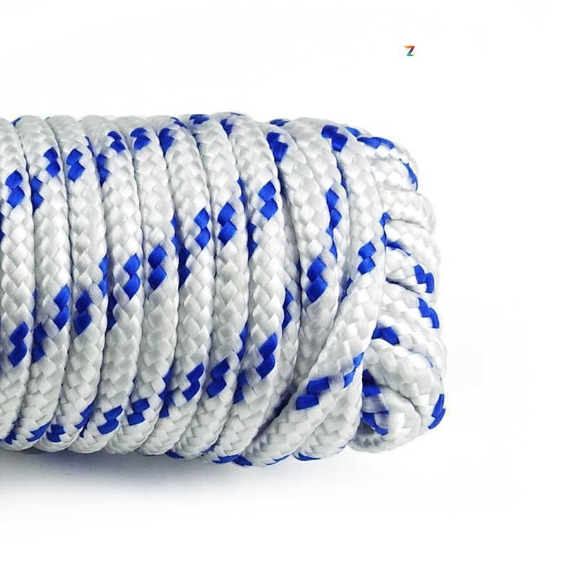 Канат полипропиленовый крученый 12 мм х 50 м (мотузка поліпропіленова оптом)
