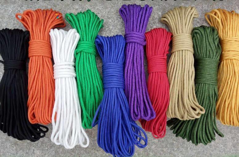 Веревка бытовая В-25 шнур рыболовный 2 мм х 25 метров зеленая