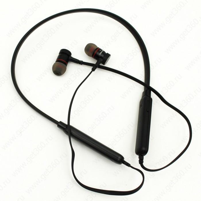 Беспроводные вакуумные Bluetooth наушники AWEI G10BL