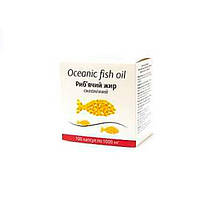 Рыбий жир (FISH OIL) УльтраКап 1000 мг, №100