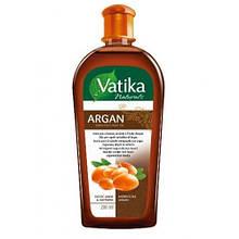 Масло для волос Dabur Vatika Moroccan Argan с экстрактом арганы Мягкое увлажнение