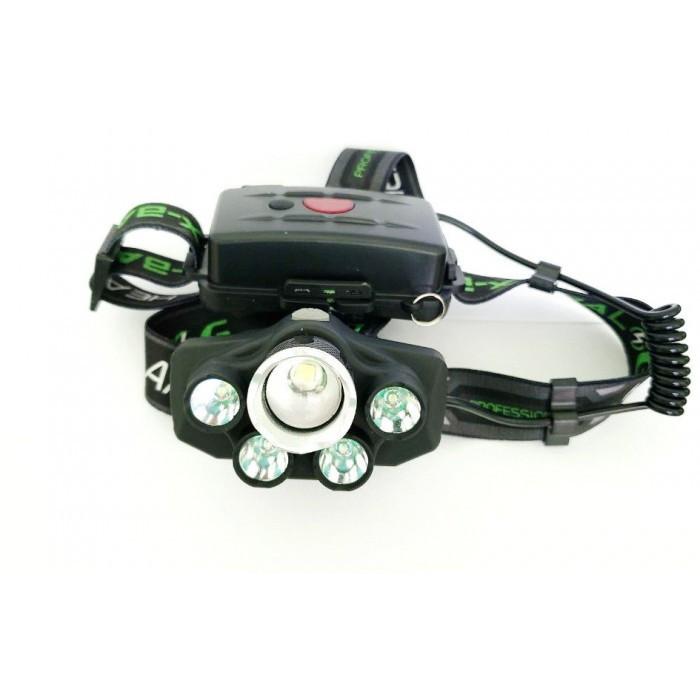 Налобный фонарь BL POLICE BL-T56 T6 фонарик + синий свет