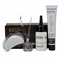 Краска для бровей и ресниц Estel ENIGMA классическая коричневая 20 мл + 20 мл