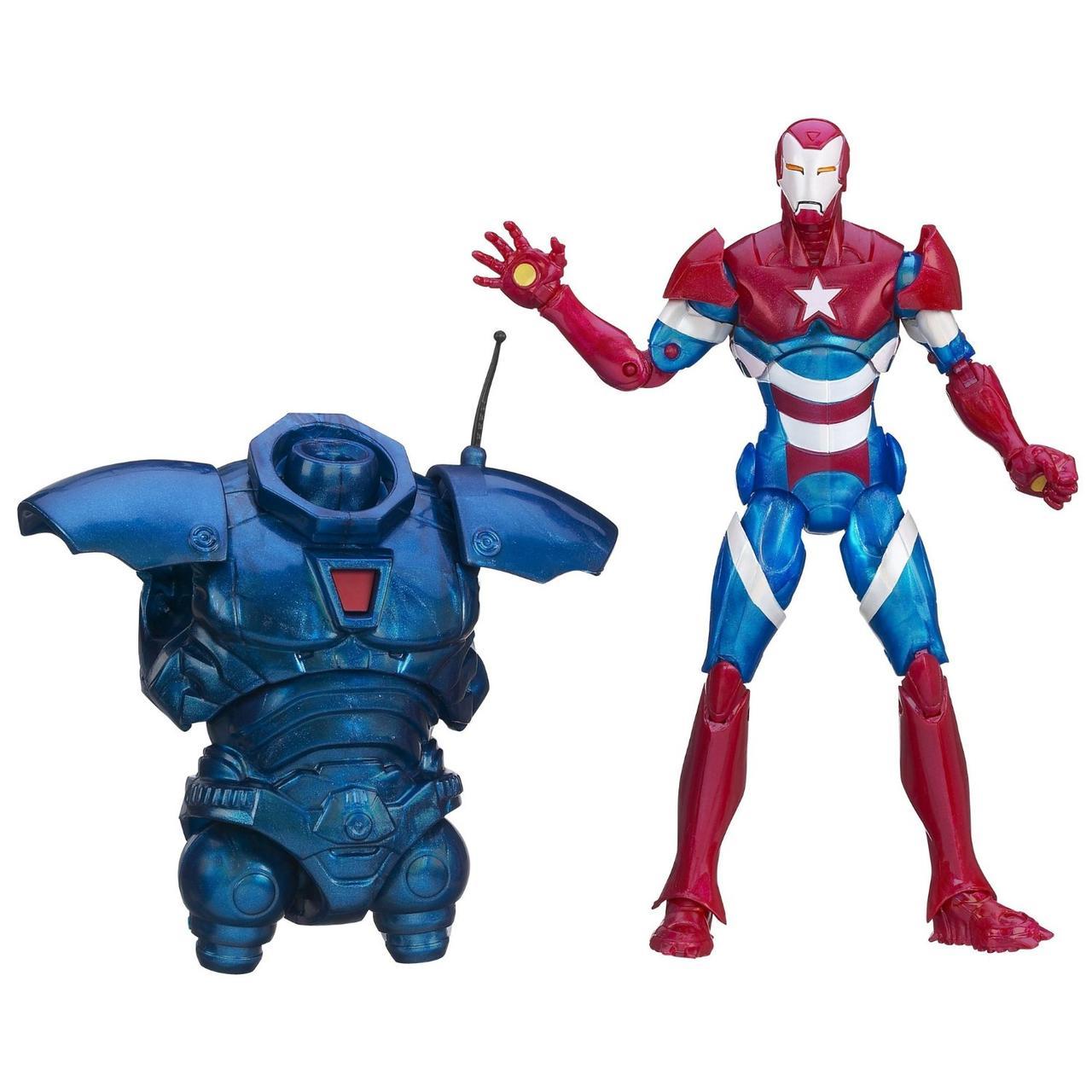 Фигурка Hasbro Железный Патриот с туловищем Железного Торговца, Легенды, 15 см - Iron Patriot, Marvel Legends