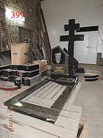 Памятник с цельным крестом, фото 1