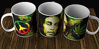Чашка Bob Marley Боб Марли Регги Reggae Подарок Сюрприз кружка