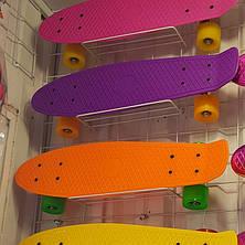 Пенниборд P21 материал усиленный пластик Цвета+, фото 2