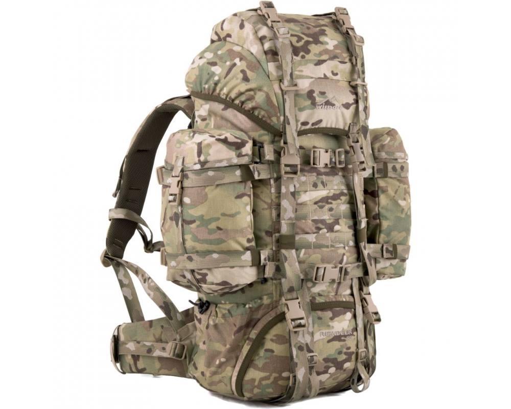 Тактичний рюкзак Wisport REINDEER 75L Multicam. мультикам.