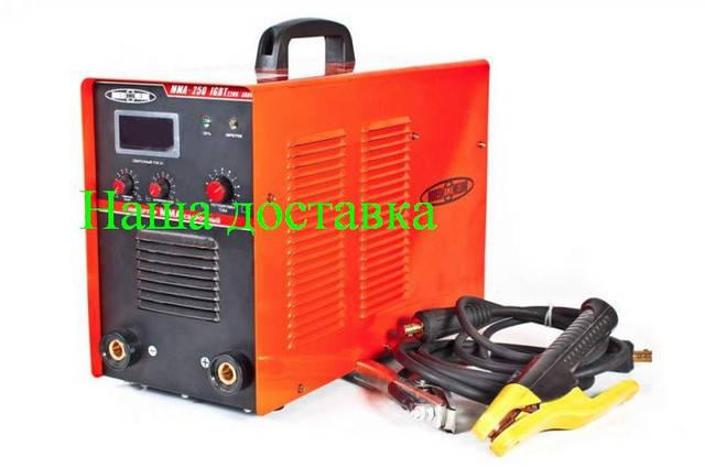 Сварочный инвертор Modern Welding (220-380V) MMA-250 IGBT, фото 2