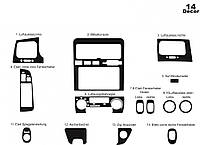 Toyota Corona Накладки на панель