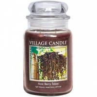 Свеча Village Candle Ягоды Асаи Табак 740г время горения до 170 часов, КОД: 1089162