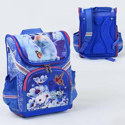 Рюкзак школьный каркасный С 36180, 1 отделение, 3 кармана, спинка ортопедическая, 3D изображение, фото 2