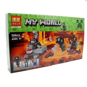 """Конструктор Bela 10469 """"Иссушитель"""" (аналог Lego Minecraft 21126) 324 детали"""