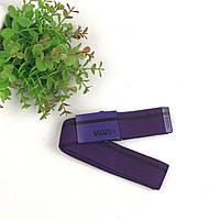 Ремень Пояс Vans полоска  - Фиолетовый 105 см