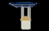 Стол для уличной торговли  с навесом, фото 4