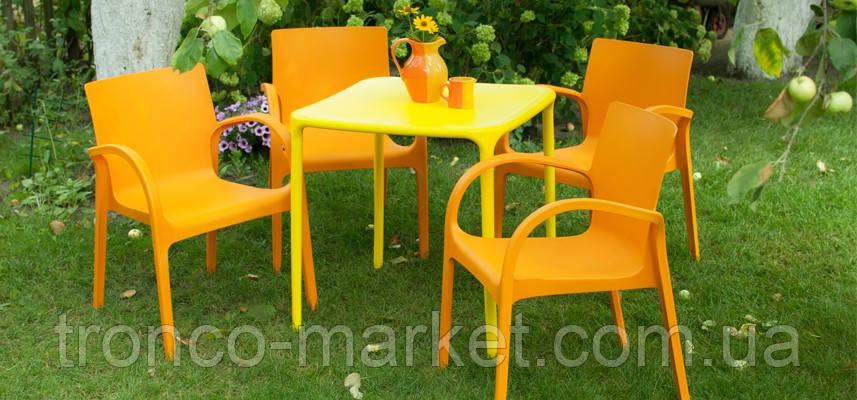 """Набор садовой мебели Стол """"Альф"""" и 4 стула """"Гектор"""", Алеана, фото 2"""