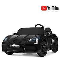 Электромобиль детский Porsche M 4055ALS-2 с мощным 180W мотором, нагрузка 100 кг