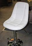 Барный стул B-45 белый искусственная кожа Vetro Mebel, фото 5