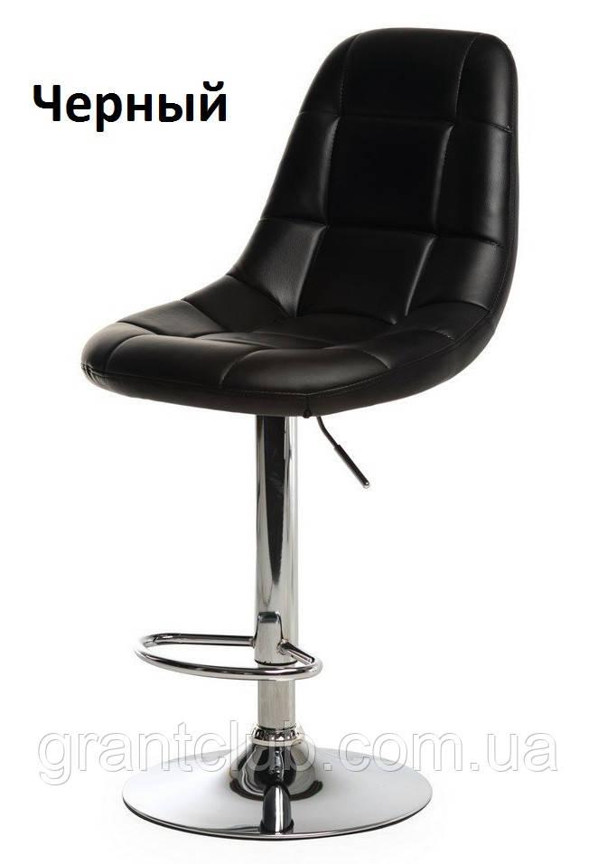 Барный стул B-45 черный искусственная кожа Vetro Mebel