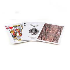 Карты для игры в покер USPCC Коричневые krut07351, КОД: 258514