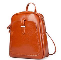 Женский рюкзак GRAYS GR-8860LB Светло-коричневый WeQs78967, КОД: 192515