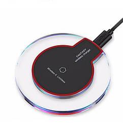 Беспроводное зарядное устройство FANTASY K9 с технологией QI Черный SUN0165, КОД: 138013