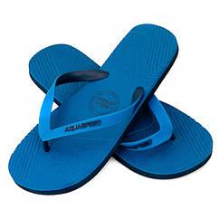 Вьетнамки мужские Aqua Speed Palermo Темно-синий с голубым 45 aqs223, КОД: 1034009