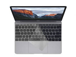 Накладка для клавиатуры MacBook Air Pro Retina 13 15 Transparent USA style IGNMB1315T1, КОД: 299646