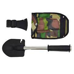 Универсальная туристическая лопата саперка 5 в 1 Kronos Top Камуфляж tps136-13110559, КОД: 659882