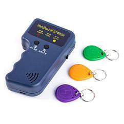 Дубликатор домофонных ключей для домофона Rfid 125khz + 3 брелока REka04, КОД: 1078616