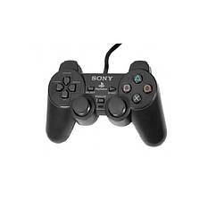 Проводной USB джойстик GamePad DualShock вибро для PlayStation ps2 Черный so10012, КОД: 959062